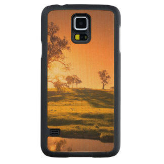 A rural Adelaide Hills landscape Carved Maple Galaxy S5 Case