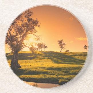 A rural Adelaide Hills landscape Coaster