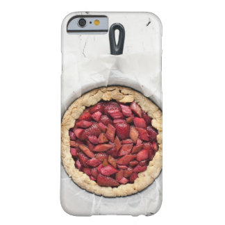A rustic, homemade tart filled with fresh barely there iPhone 6 case