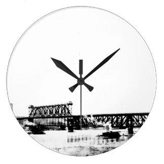 A.S.B. Bridge Large Clock