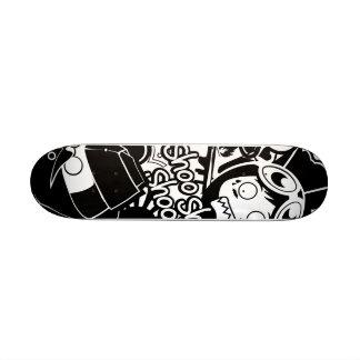 A S D Pattern Skate Decks