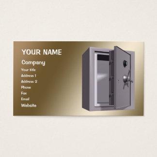 A 'safe' business card