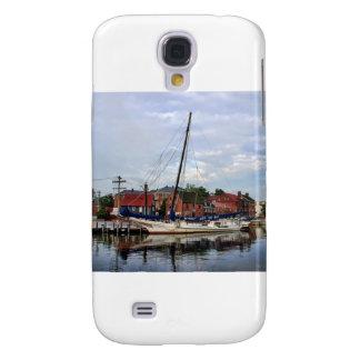 A Sailboat in Annapolis Harbor Samsung Galaxy S4 Case