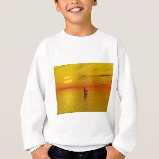 A sailing boat. sweatshirt