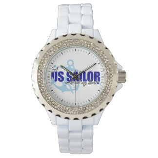 A Sailor Anchored My Heart Wristwatches