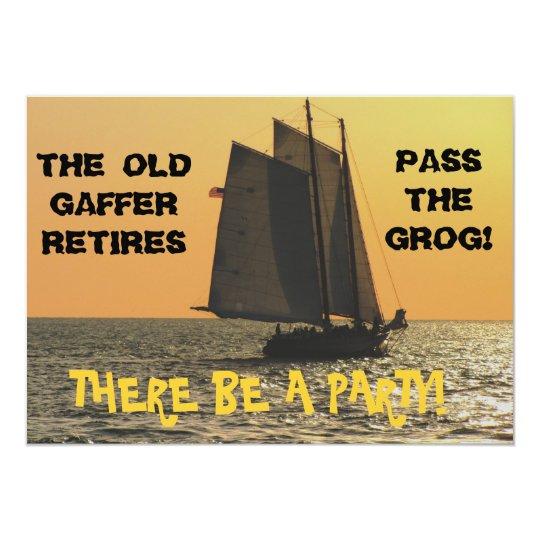 A Sailor's Retirement Invitation