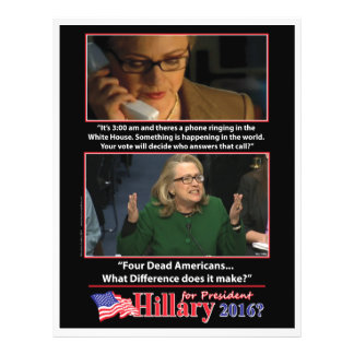 A Sarcastic Look at Hillary for President 2016 21.5 Cm X 28 Cm Flyer