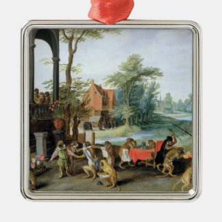 A Satire of the Folly of Tulip Mania Christmas Ornament