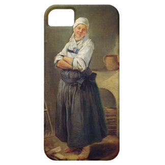 A Saxon Villager in her Kitchen (oil on canvas) iPhone 5 Cases