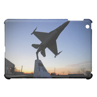 A scale model of an F-16 C Fighting Falcon Cover For The iPad Mini