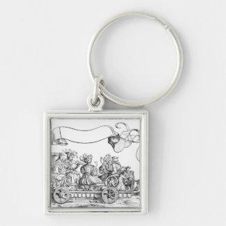 A Scene from Maximilian's Triumphal Procession Keychain