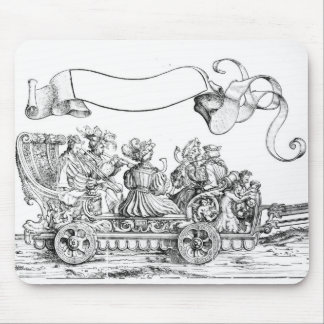 A Scene from Maximilian's Triumphal Procession Mouse Mat