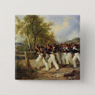 A Scene from the soldier's life, 1849 15 Cm Square Badge