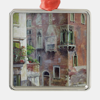 A Scene in Venice Christmas Ornament