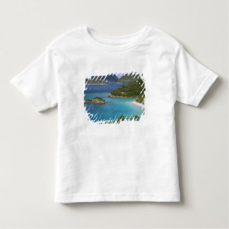A scenic of Caneel Bay from a road at St. John Toddler T-Shirt