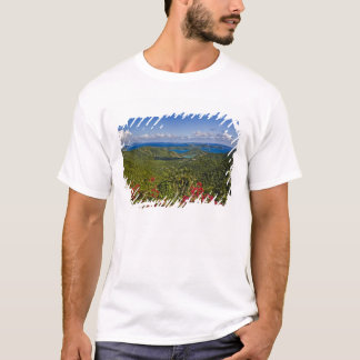 A scenic of Cruse Bay, St. John U.S Virgin T-Shirt