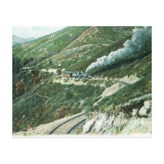 A Scenic Railway ViewMt. Tamalpais, CA Canvas Print