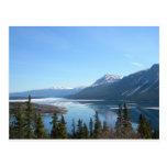 A Scenic View in Skagway, Alaska Postcard