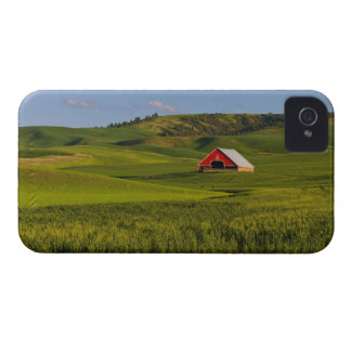 A scenic view of a barn in Moscow Idaho. iPhone 4 Case