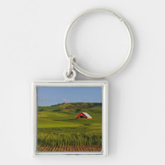 A scenic view of a barn in Moscow Idaho. Key Ring