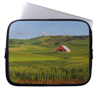 A scenic view of a barn in Moscow Idaho. Laptop Sleeve