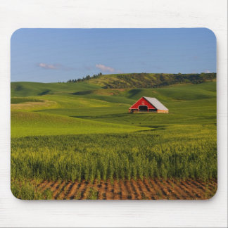 A scenic view of a barn in Moscow Idaho. Mouse Mat
