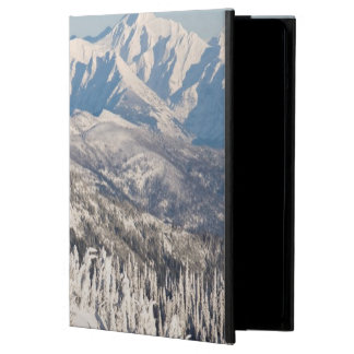 A Scenic View of Snowy Mountains and Trees. Cover For iPad Air