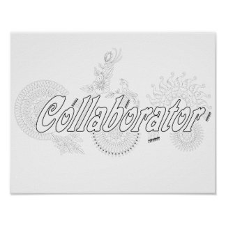 A School Counselor is a Collaborator Poster
