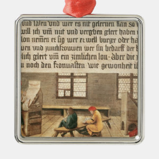 A School Teacher Christmas Ornament