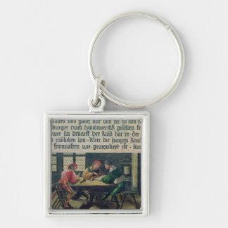 A School Teacher Key Ring