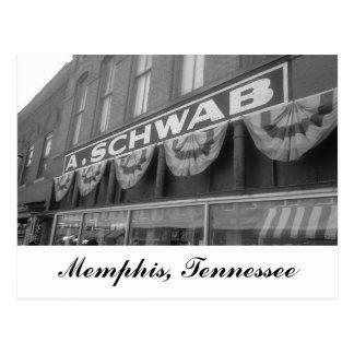 A. Schwab store Memphis Tennessee Postcard