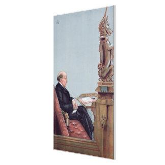 A Scots Lawyer Canvas Print