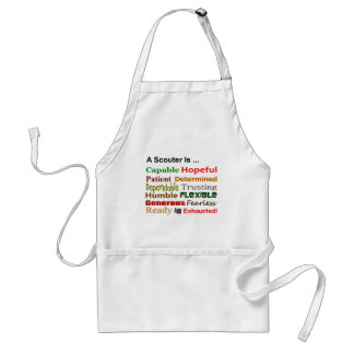 A Scouter Is ... Apron