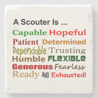 A Scouter Is... Coaster