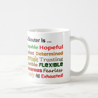 A Scouter is ... coffee mug