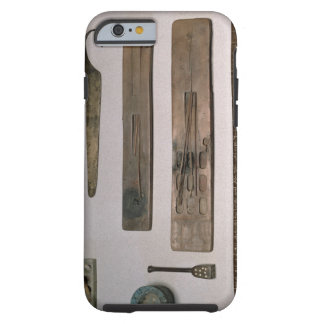 A scribe's instruments (wood, ivory, bronze and en tough iPhone 6 case