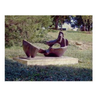 A Sculpture in Kansas City Postcard