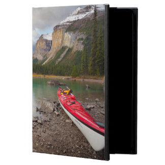 A sea kayak ashore at Spirit Island iPad Air Cover