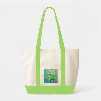 A Sea Turtle Rescue Canvas Bags