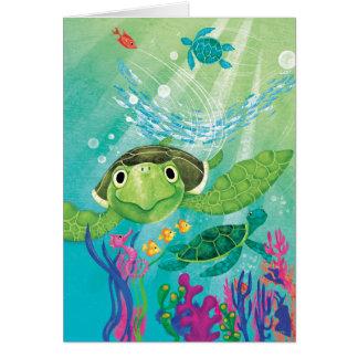 A Sea Turtle Rescue Cards
