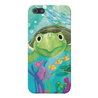 A Sea Turtle Rescue iPhone 5/5S Covers