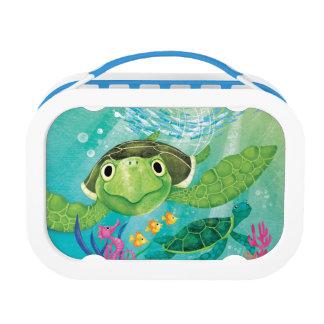 A Sea Turtle Rescue Lunch Box