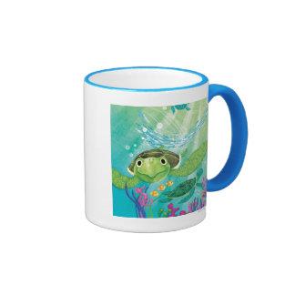 A Sea Turtle Rescue Coffee Mugs