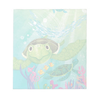 A Sea Turtle Rescue Notepad
