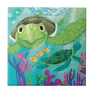 A Sea Turtle Rescue Tile