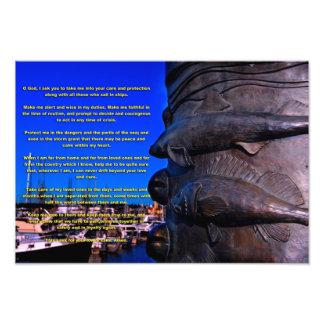 A Seaman's Prayer Photographic Print