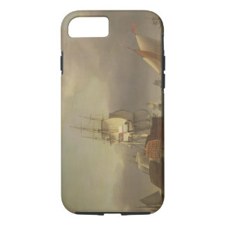 A Seascape with Men-of-War and Small Craft (oil on iPhone 7 Case