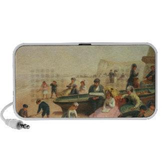 A Seaside Scene iPod Speaker