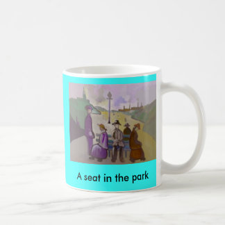 A SEAT IN THE PARK MUGS