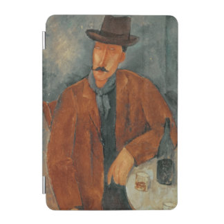 A seated man leaning on a table iPad mini cover